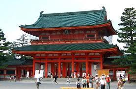 heian temple kyoto
